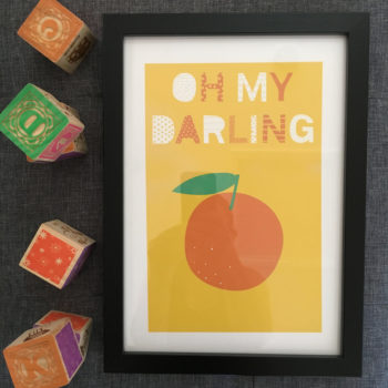 Oh my darling print by beckyismyname