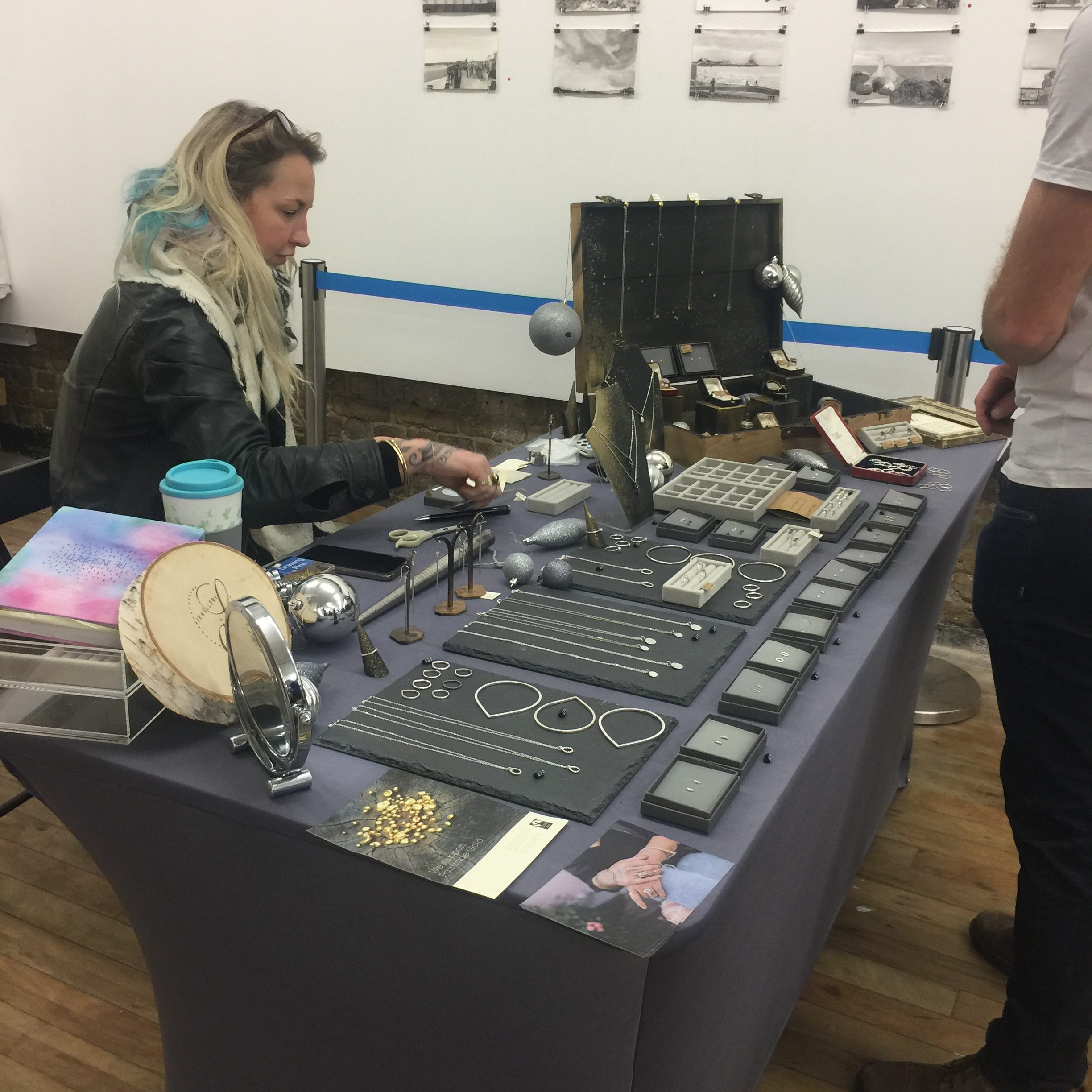 Jewellery stall at Margate Made
