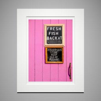 Fresh fish! - a print by Eleanor Marriott