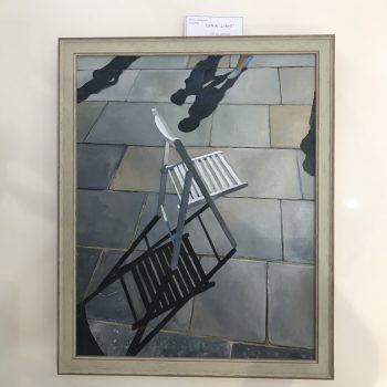 Chair light - oil on canvas