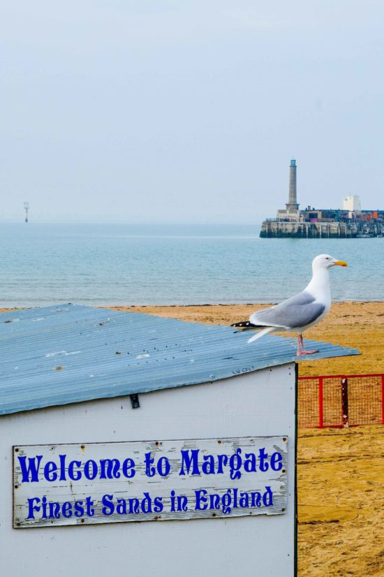 Welcome to Margate - a print by Eleanor Marriott