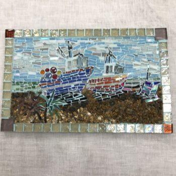 Mosaic Deal Fishing Boats by Alouisa Quansah-Brown