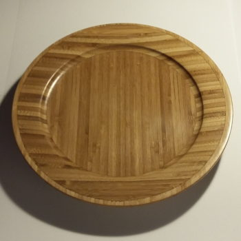 Bamboo platter by Martin Gomme