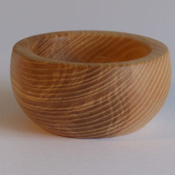 Ash Pinch Pot by Martin Gomme