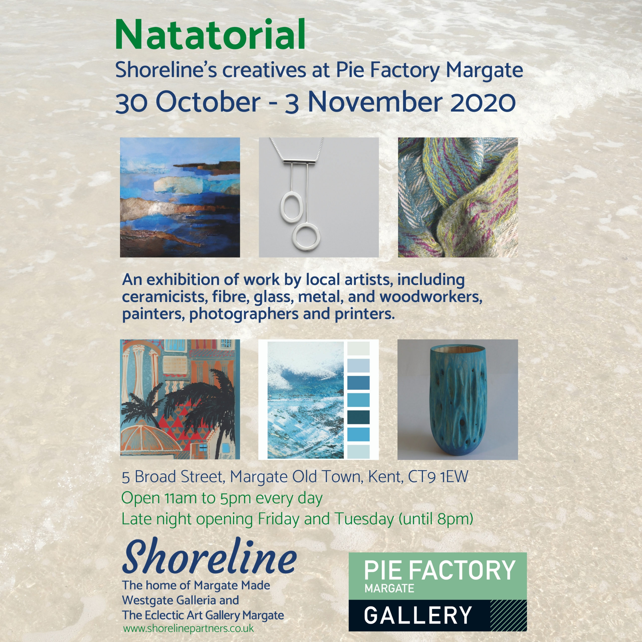 Natatorial at Pie Factory Margate