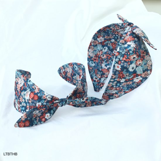 Liberty Thorpe Hill Blue Headband by Jo Weeks