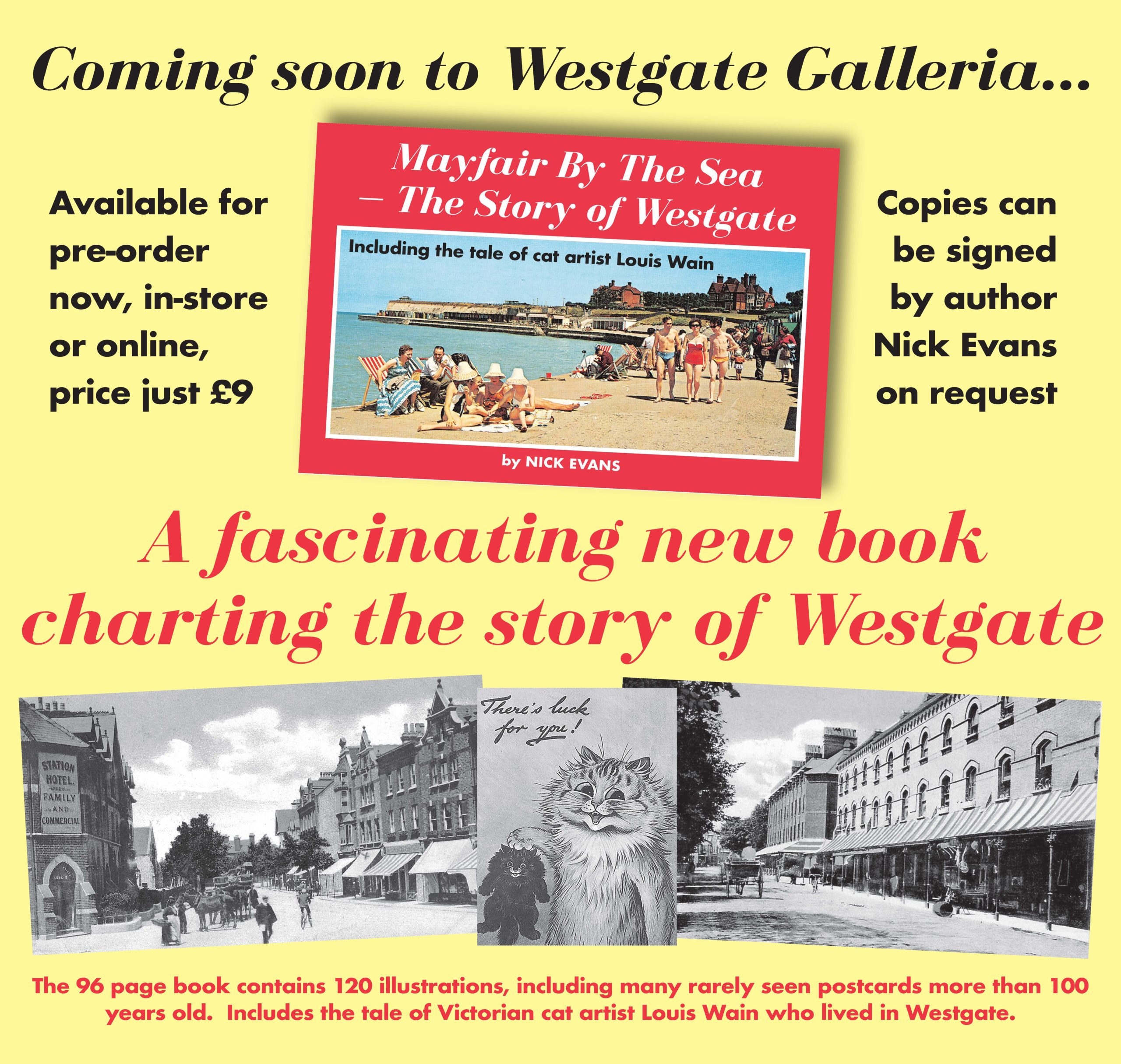 Meet the Author and Booking Signing - Nick Evans 1