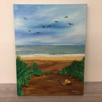 Sandcastles at Palm Bay by Samantha Wing