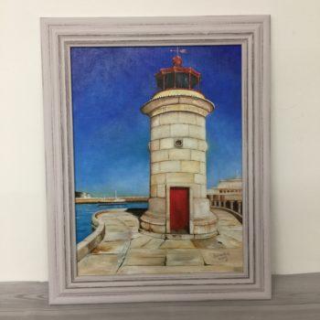Ramsgate Lighthouse print by Samantha Wing