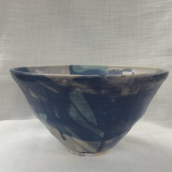 25 cm blues bowl 1 by David Froude
