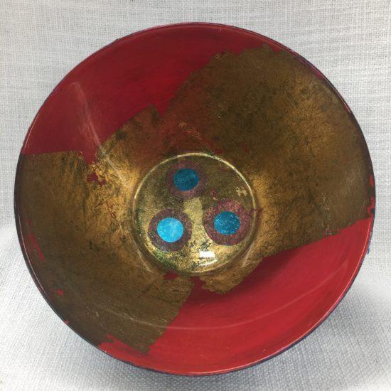 Medium Glass Bowl by Eve Stickler