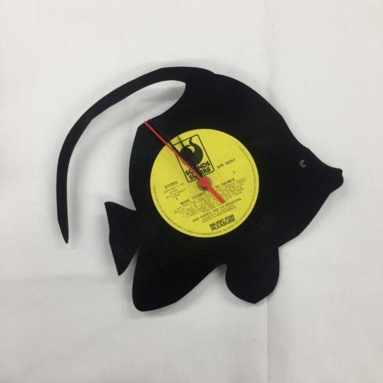 Reef Fish Vinyl Clock by Frank White