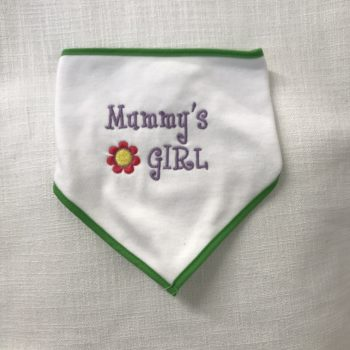 "Baby's Bib - ""Mummy's Girl"" by Dee Nolan"