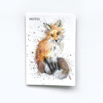 Fox Notebook by Beverley Fisher