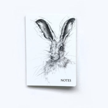 Hare Notebook by Beverley Fisher
