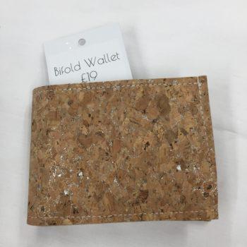 Cork wallet by Sarah Bowles