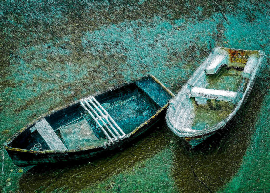 Two Boats Resting