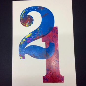 21 Birthday Card by David Wadmore