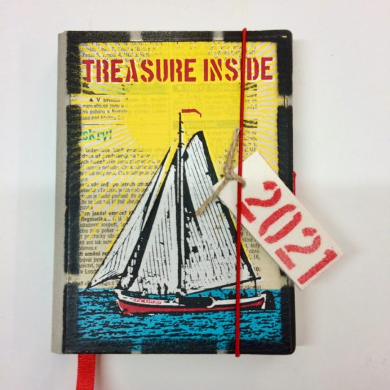 Treasure Island/Yacht Deafmessenger 2021 Diary by David Wadmore