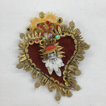 Sacred Heart Brooch by Jan Cooper
