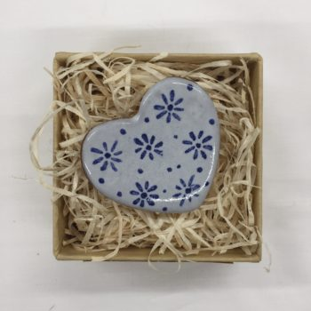 Boxed Ceramic Fridge Magnet by Libby Laven