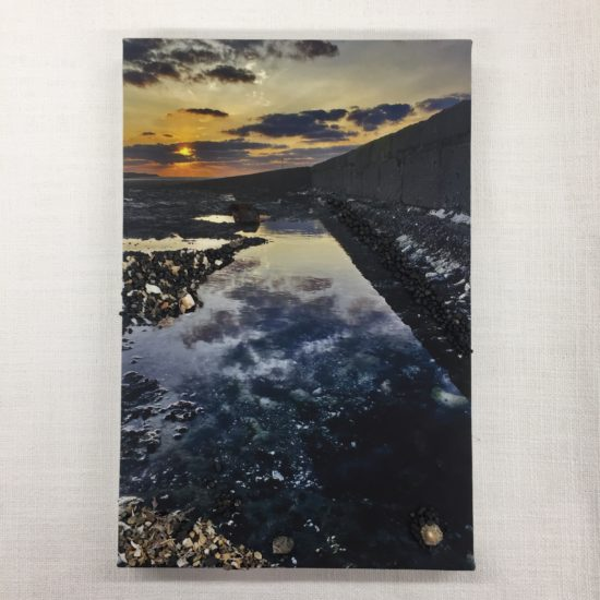Child's Sunset Creation by Kim Pashley