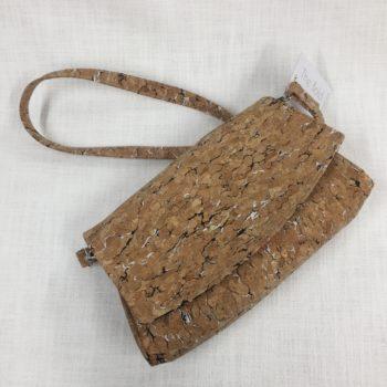Convertible Cork Clutch Bag by Sarah Bowles
