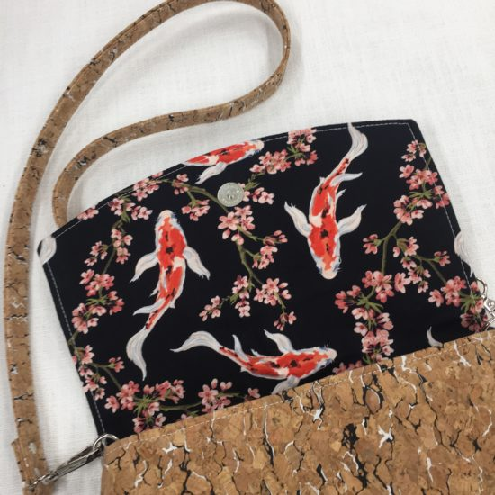 Convertible Cork Clutch Bag by Sarah Bowles ACC-121ASB-011
