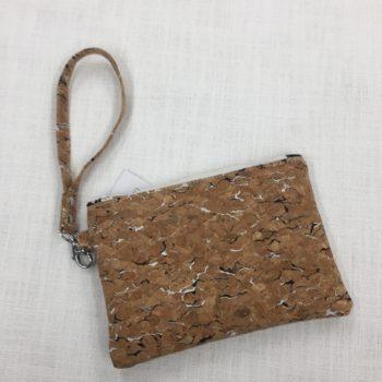 Cork Wristlet Bag by Sarah Bowles ACC-121ASB-012