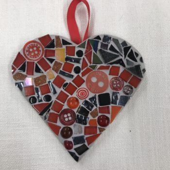 Mosaic Heart (5) by Ali Quansah-Brown