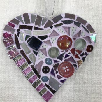 Mosaic Heart (4) by Ali Quansah-Brown