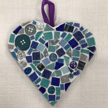 Mosaic Heart (3) by Ali Quansah-Brown