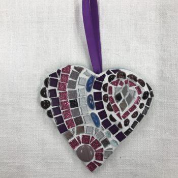 Mosaic Heart (2) by Ali Quansah-Brown