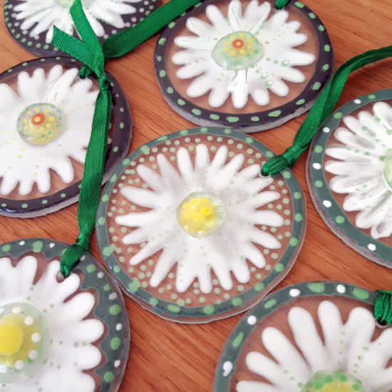 Daisy Hangings by Christine Jeffryes