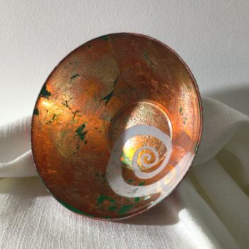 Medium Glass Bowl by Eve Stickler