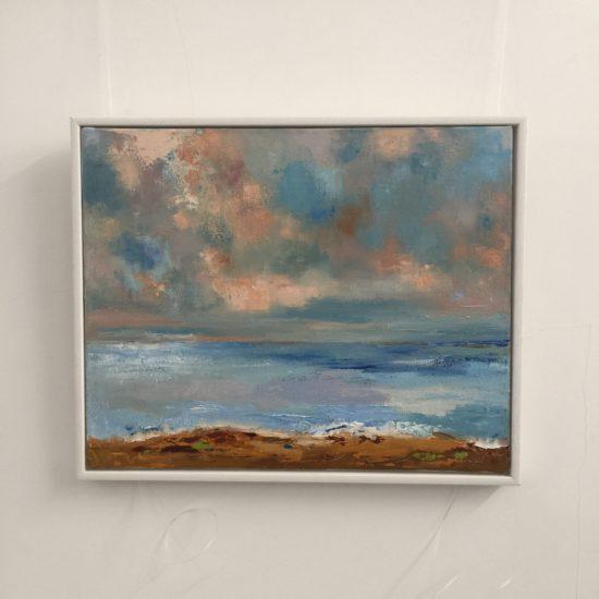 November Day - Light in the ocean by Ann Palmer