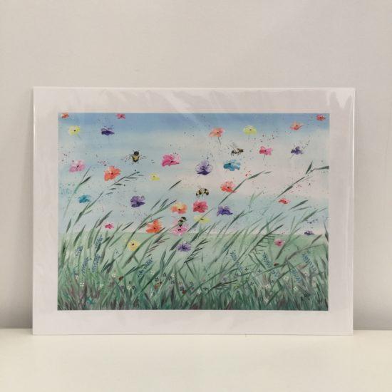 Summer Breeze by Geraldine Alfeo