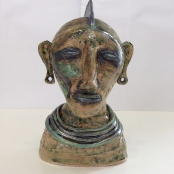 Mohican Head by Janis Volckman
